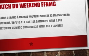 Prochain Match du weekend